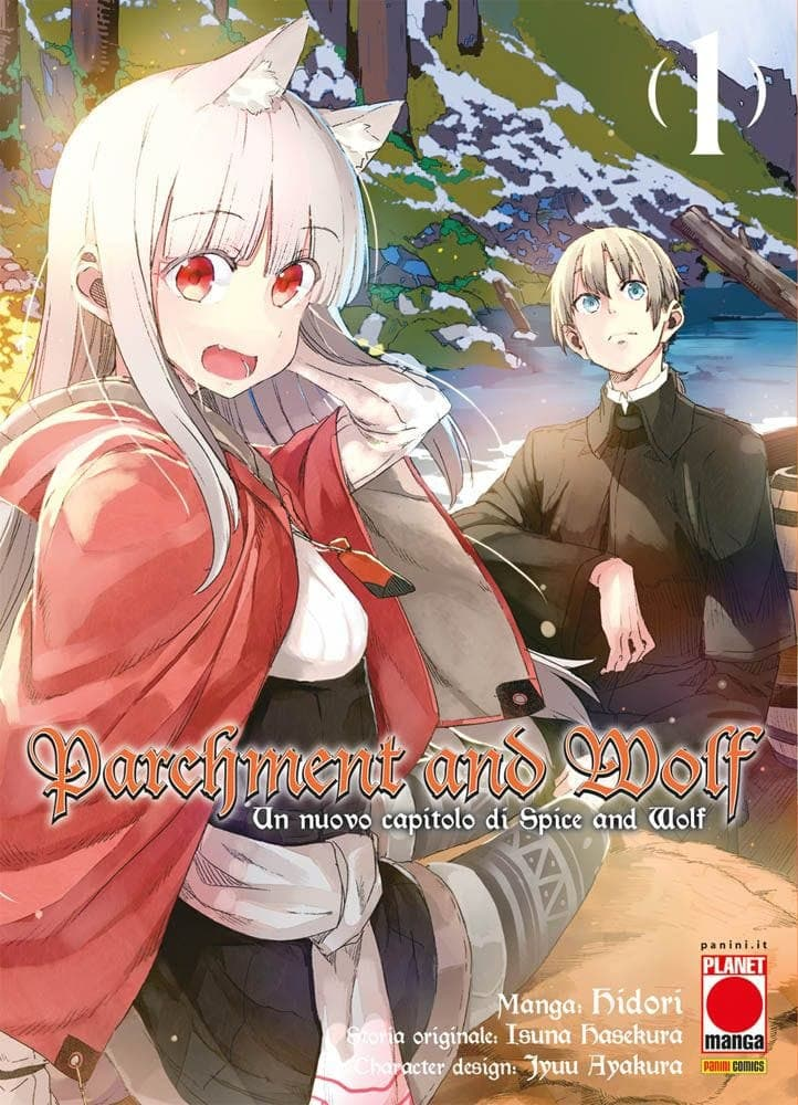 Parchment and Wolf 1 - Planet Manga